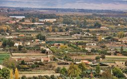 Panorama Tudela, Espagne Image libre de droits