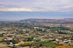 Panorama Tudela, Espagne Photos libres de droits