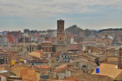 Panorama Tudela, Spain Stock Image