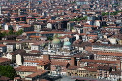 Panorama of the Turin, Italy Royalty Free Stock Photography