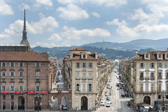 Panorama of Turin, Italy Royalty Free Stock Photo