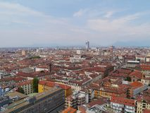 Panorama of Turin in Italy Stock Photos