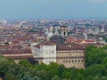 Panorama of Turin in Italy Royalty Free Stock Photography