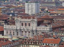 Panorama of Turin in Italy Stock Image