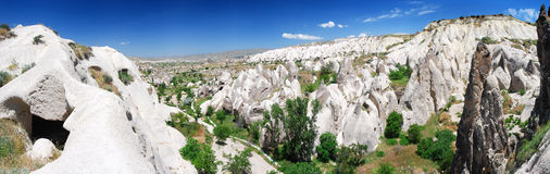 Panorama/Turquia de Cappadocia Imagem de Stock
