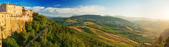 Panorama of the Tuscany, Italy Royalty Free Stock Photos