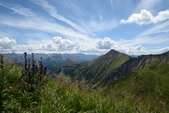 Tyrol panorama royalty free stock image