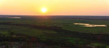 Panorama Ubirr, kakadu nationaal park, Australië Stock Afbeeldingen