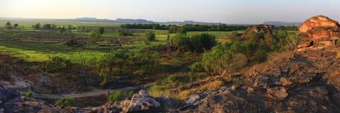Panorama Ubirr, kakadu national park, australia Stock Photography