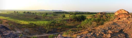 Panorama Ubirr, kakadu national park, australia Royalty Free Stock Photos