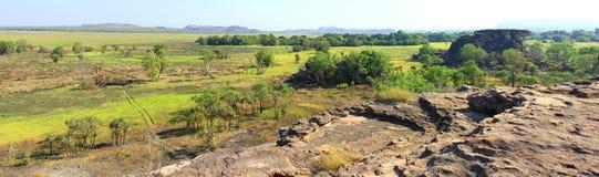 Panorama Ubirr, kakadu national park, australia Royalty Free Stock Images