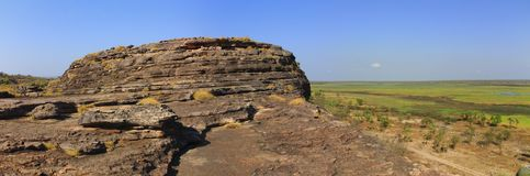 Panorama Ubirr, kakadu national park, australia Royalty Free Stock Photo