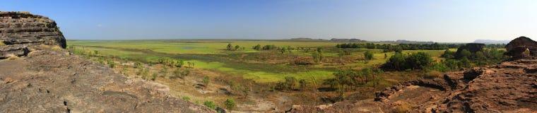 Panorama Ubirr, kakadu national park, australia Stock Photos