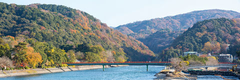 Panorama of Uji Kyoto Japan Stock Photo