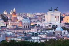 Panorama ultra ampio di Roma, Italia Fotografie Stock