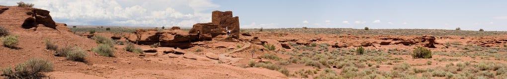 Panorama un de Wupatki Photographie stock libre de droits