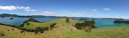 Panorama from Urupukapuka Island Royalty Free Stock Photography