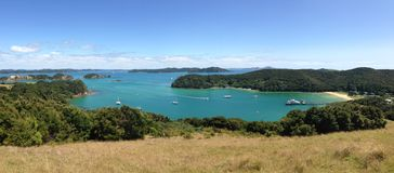 Panorama from Urupukapuka Island Royalty Free Stock Image