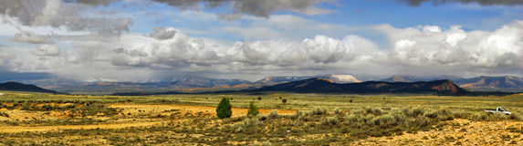 Panorama of Utah state Royalty Free Stock Image