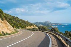panorama- väg Royaltyfri Foto