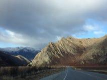 panorama- väg fotografering för bildbyråer