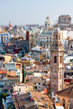 Panorama of Valencia from a high point. Spain. Stock Photography