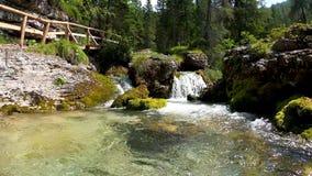 Panorama of the Valesinella Waterfalls - 6K