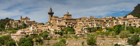 Panorama of Valldemossa Royalty Free Stock Image