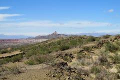 Panorama Valle de la Luna Stock Photo
