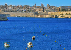 Panorama of Valletta Stock Photos