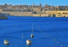 Panorama of Valletta Stock Photos