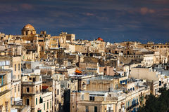 Panorama of Valletta, Malta Royalty Free Stock Photos