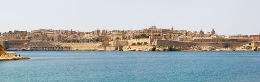 Panorama of Valletta Malta 2013 Royalty Free Stock Photography