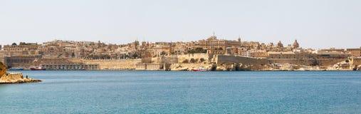 Panorama of Valletta Malta 2013 Royalty Free Stock Photography