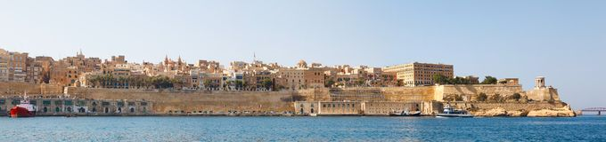 Panorama of Valletta Malta 2013 Stock Images