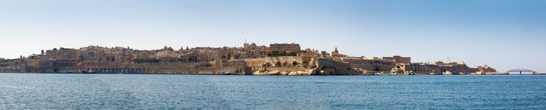 Panorama of Valletta Malta 2013 Stock Photography
