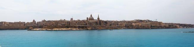 Panorama of Valletta Malta 2013 Stock Image