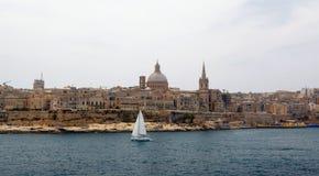 Panorama of Valletta Malta 2013 Royalty Free Stock Photo
