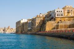 Panorama of Valletta Malta 2013 Stock Photography