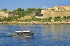 Panorama of Valletta, Malta Royalty Free Stock Images