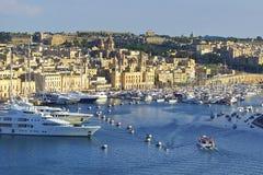 Panorama of Valletta, Malta Royalty Free Stock Photography