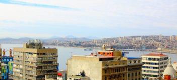 Panorama of Valparaiso - Chile, Latin America Stock Photo