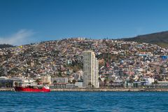 Panorama of Valparaiso Stock Image