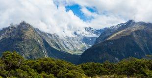 Panorama van Ailsa Mountains van Zeer belangrijke Top stock foto