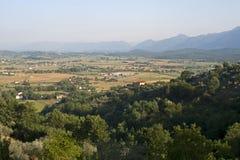 Panorama van Anagni Royalty-vrije Stock Fotografie
