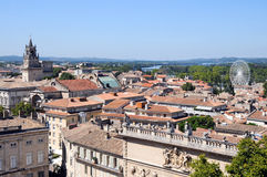 Panorama van Avignon Royalty-vrije Stock Foto