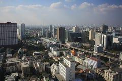 Panorama van Bangkok Stock Fotografie