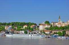 Panorama van Belgrado Royalty-vrije Stock Foto