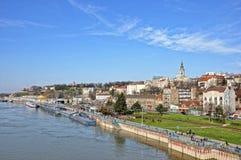 Panorama van Belgrado Stock Fotografie