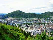 Panorama van Bergen Royalty-vrije Stock Fotografie